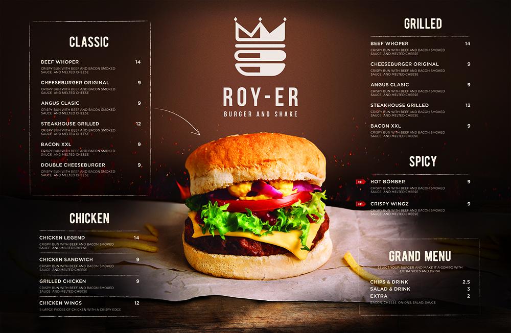 Ro-yer Burger&Shake